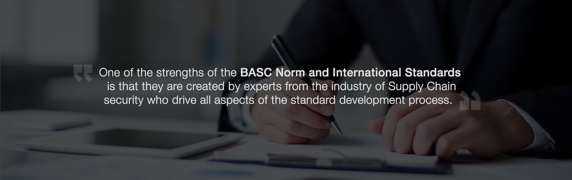 Basc norm and standards