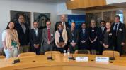 UNIDIR's Working Group formed by representatives of global manufacturers and UN officials. Representing BASC, Álvaro Alpízar, President of the Board of Directors of WBO.